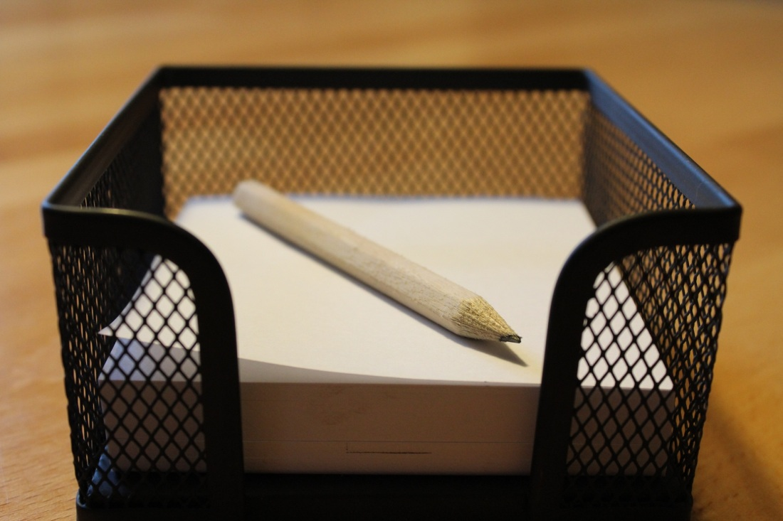 pencil notes